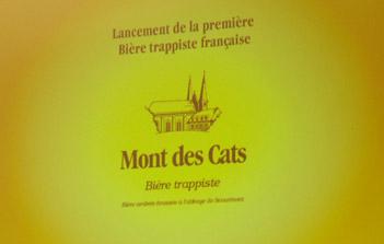 Bière Trappiste Française du Monts des Cats