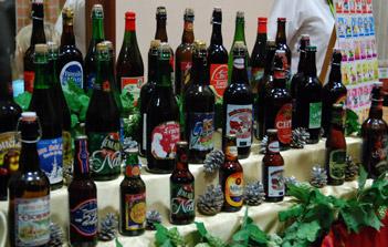 Toutes les bières présente à la soirée bière de Noël 2010