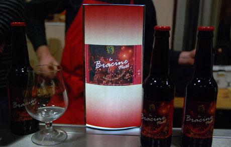 Bière de Noel Bracine