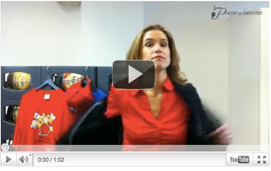 Video du Défi de Pompe-a-biere.com