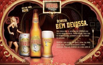 Paris Hilton sexy bière Devassa Ben loura