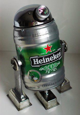 Recyclage fut beertender